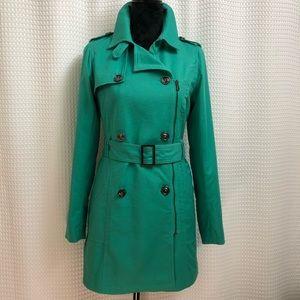 Willi Smith Green Trench Coat